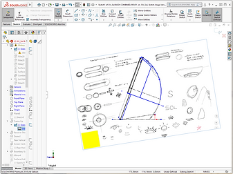 Sketch Image in CAD, With Window_REV03.p