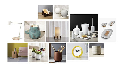 SAD Light Therapy Mood Board, Objects.jp