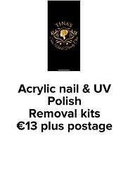 Acrylic Nail & UV Polish Removal