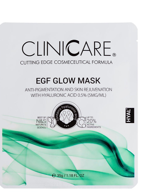 Clinicare sheet mask . Anti-pigmentation