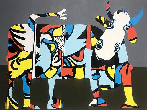 Baby Micky Mouse 50 x 70 cm
