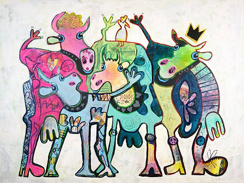 We are family, 90 x 120 cm