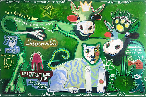 Friends with benefits 100 x 150 cm