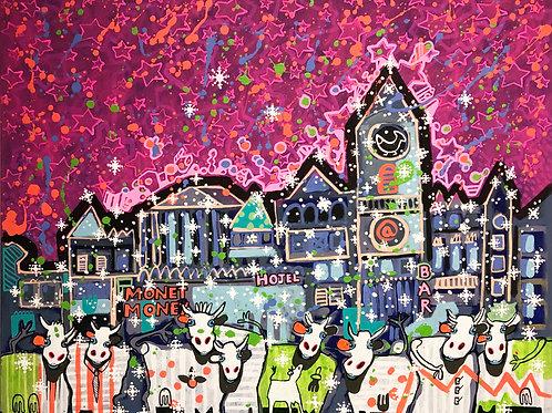 Winter Wunderland 80 x 100 cm