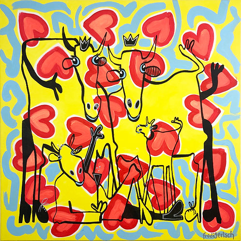 All you need is LOVE 80 x 80 cm