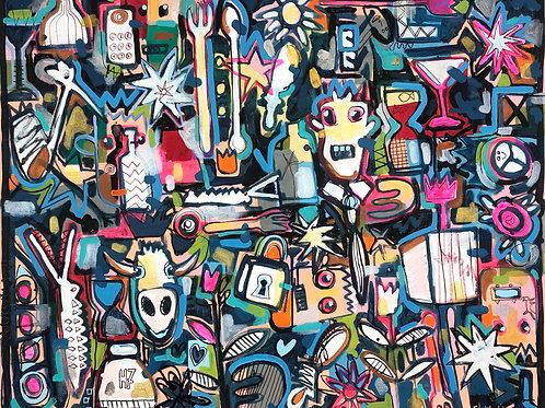 Lost Key 80 x 100
