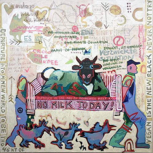 No Milk Today, 100 x 100