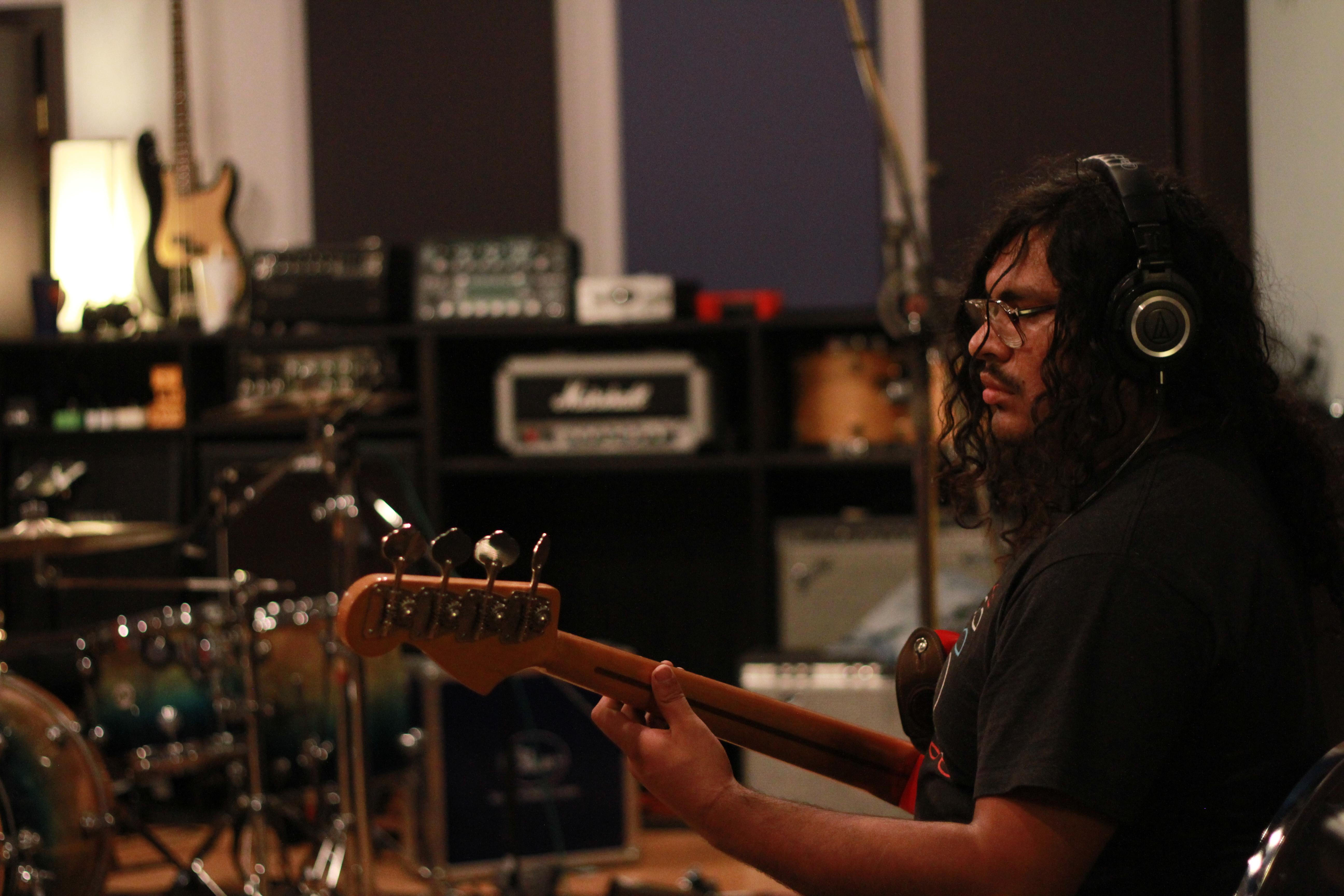 Kisspanic Recording Session