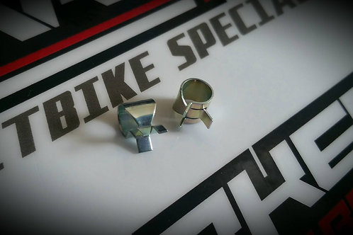 Carburettor Overflow Pipe Clips