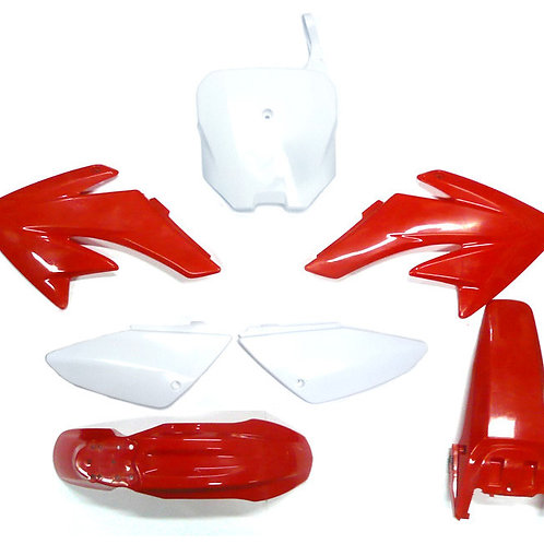 CRF70 Style Plastic Set