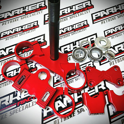 Pit Bike CNC Triple Clamp Set