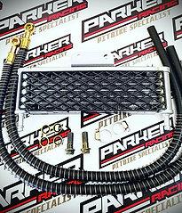 Pit Bike Large High Flow Oil Cooler Kit