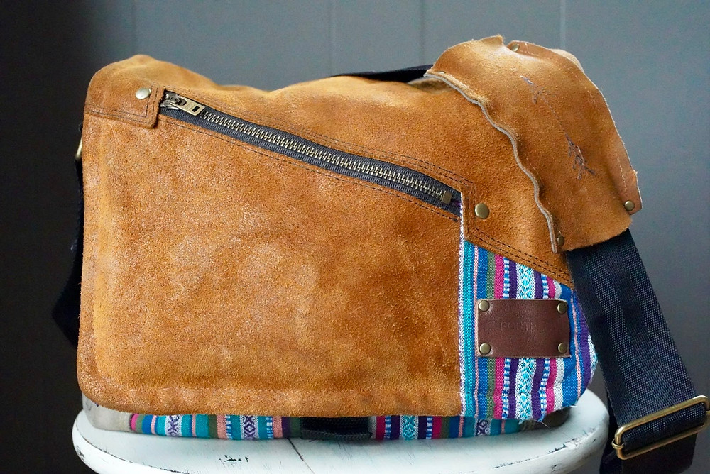 Porteen Gear, Leather, handmade, bag, fashion, Natalie Lopez, Natalie Lopez Photography, Holiday Gift ideas