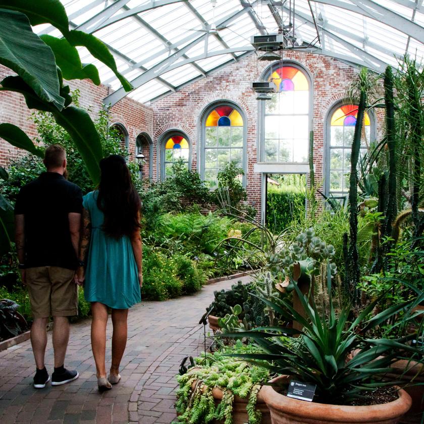 Missouri Botanical Gardens, Engagement Session