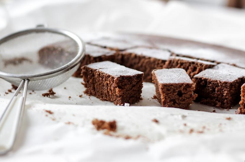 Brownie de Chocolate e nozes com Toffee de Caramelo
