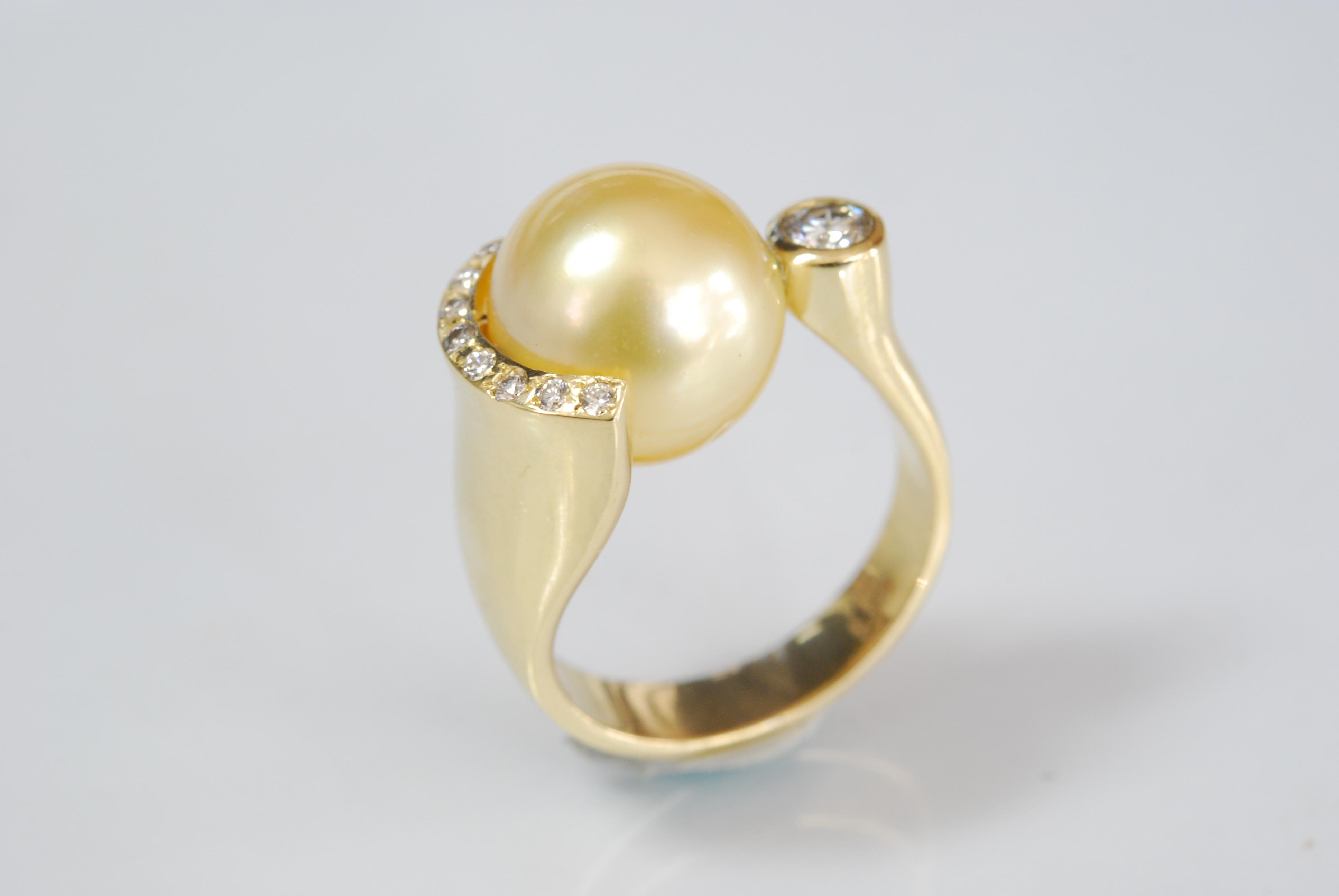 Südseeperlen Ring