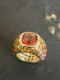 Mandarin Granat Ring