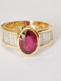 Rubin und Diamant