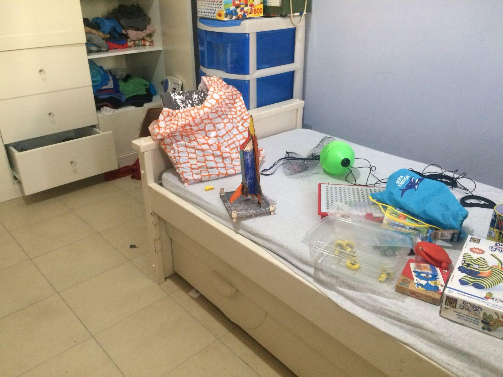 חדרי הילדים לפני