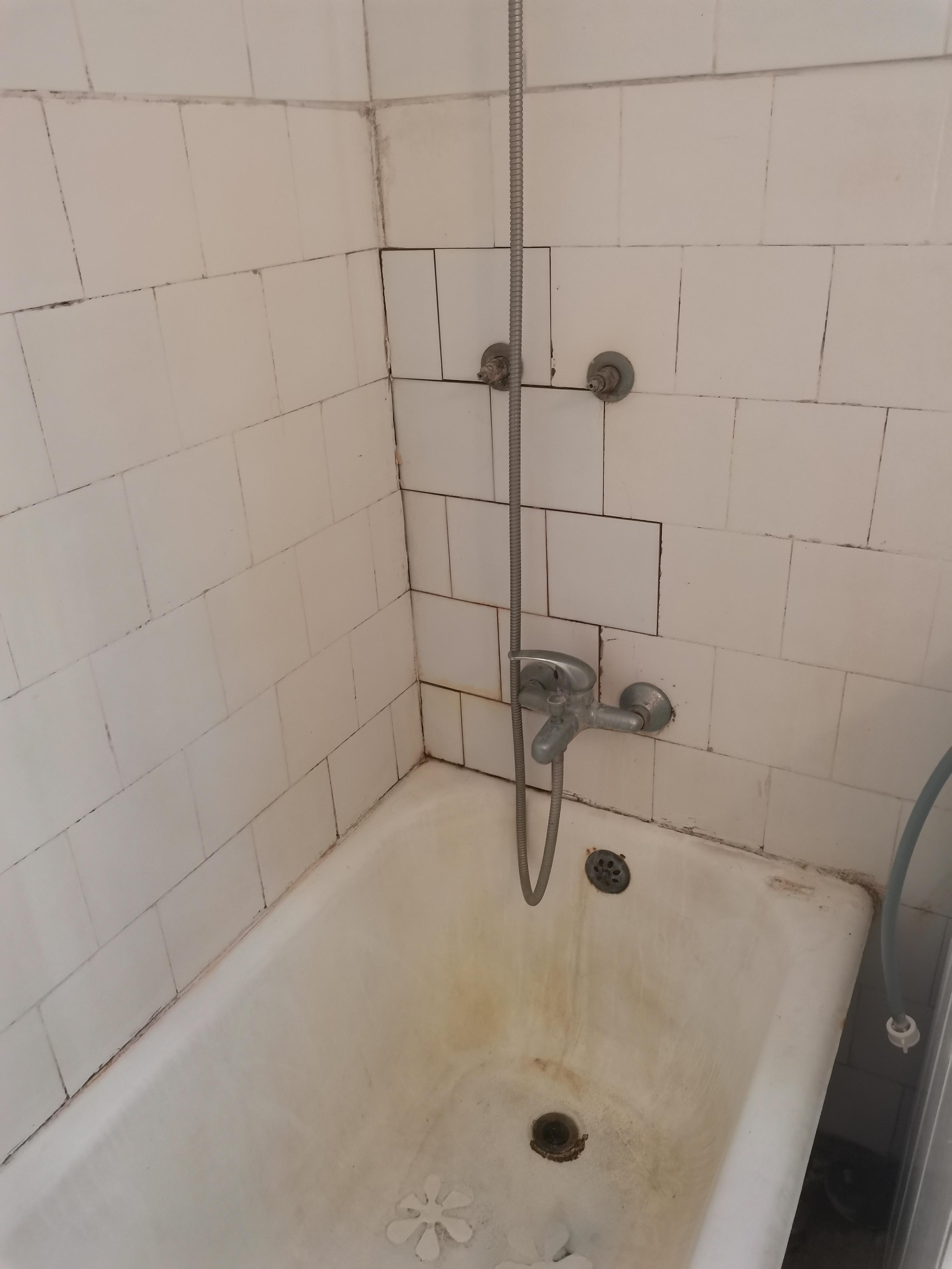 האמבטיה לפני