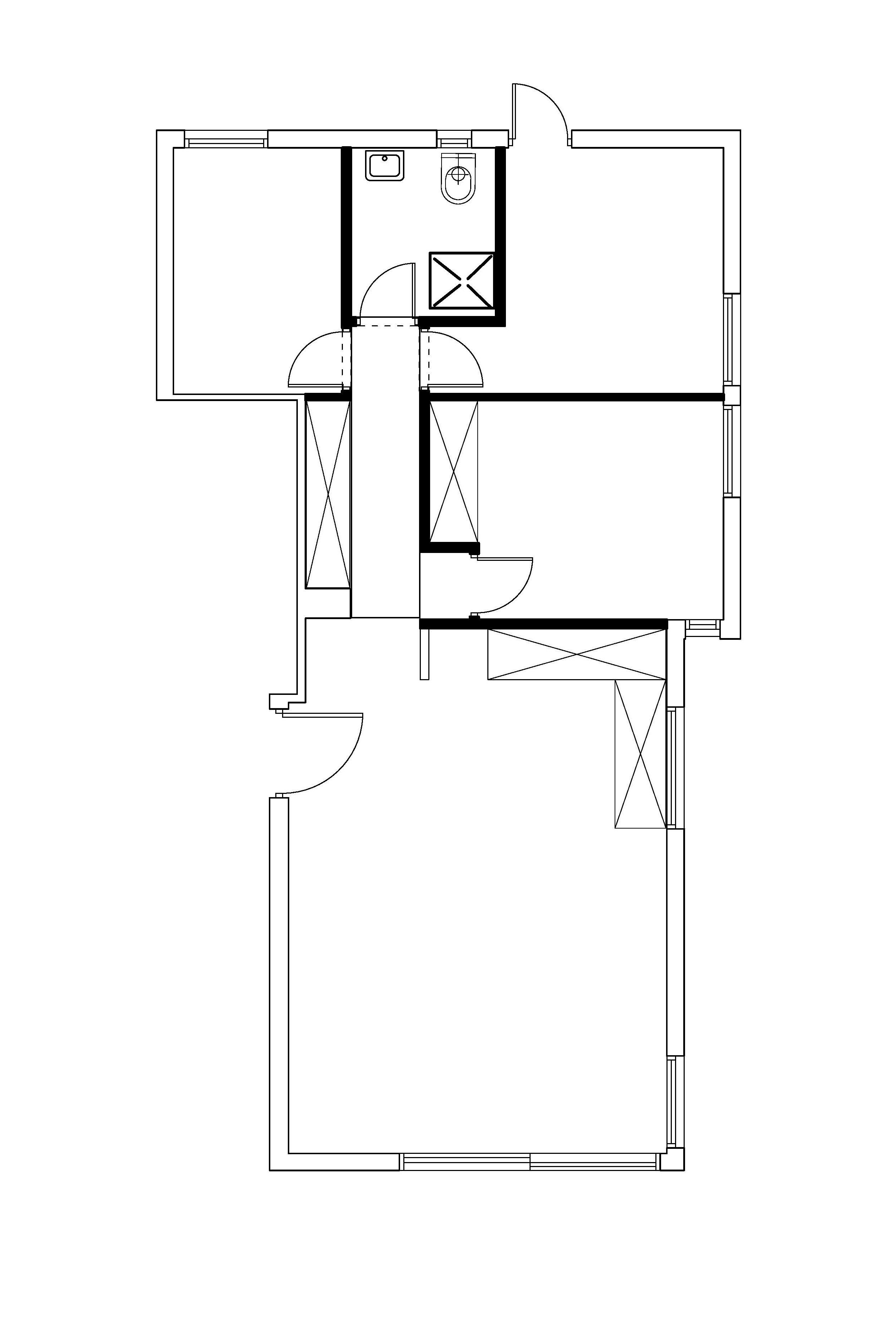 הדירה לפני