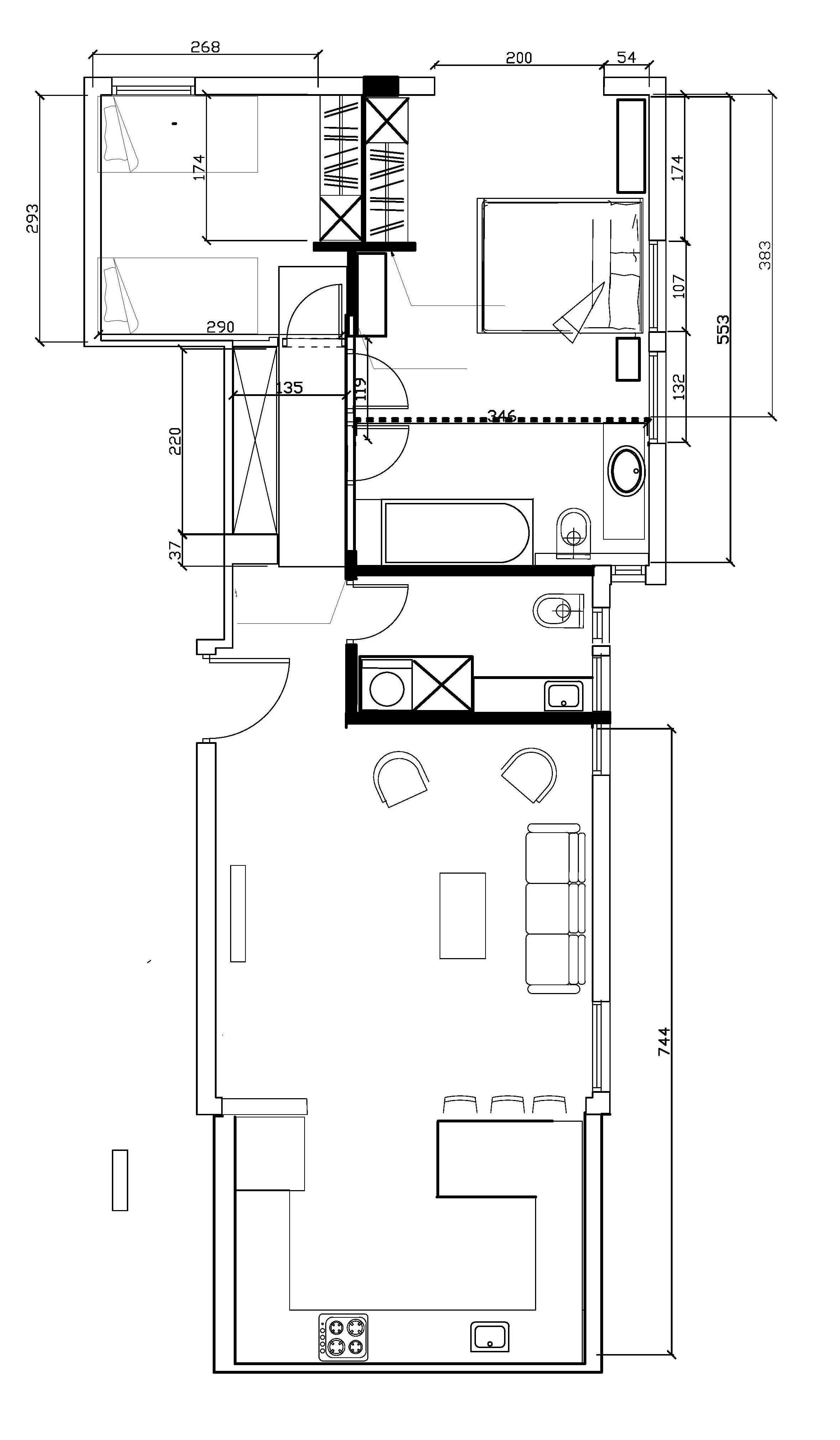 הדירה אחרי
