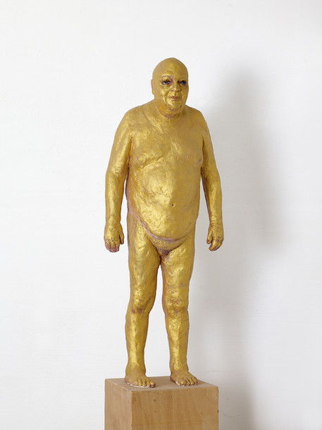 Golden sculptures