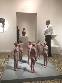 Installation at the Mana Katz Museum