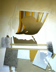 A drawing depicting stages of the development of the final painting 2