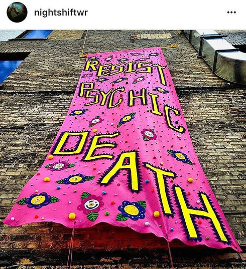 Resist Psychic Death Banner