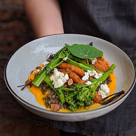 Carrots, broccolini