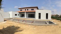 Construction de villa avec piscine