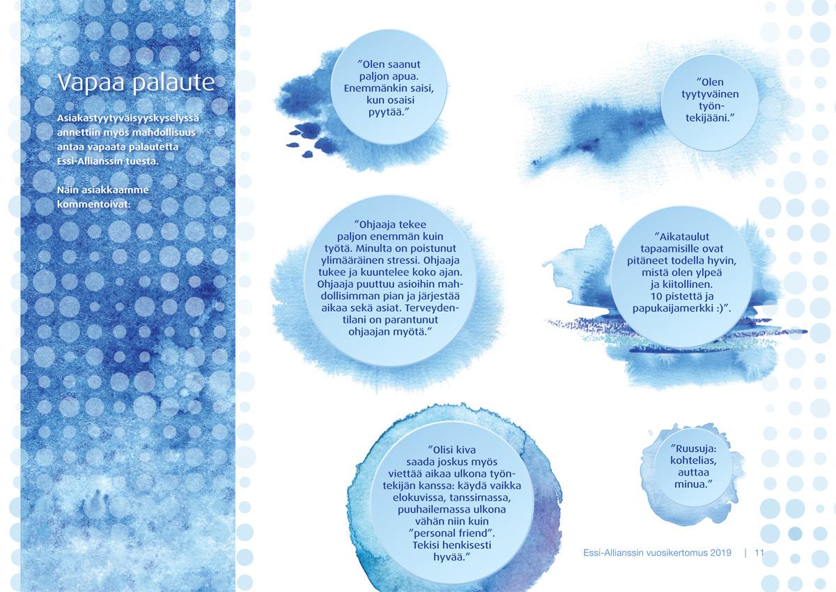 Essi-Allianssin vuosikertomus 2019