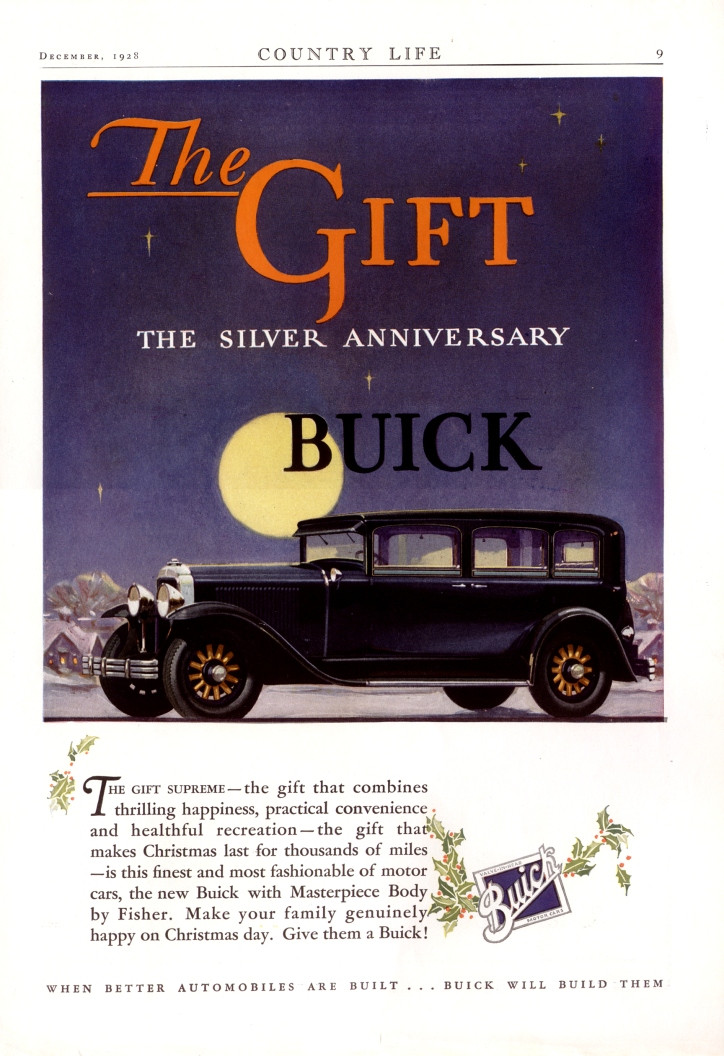Buick car - the supreme gift!