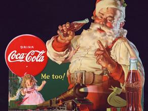 Me too! Coca-Colaa, Budweiser-olutta, Lucky Strikea tai Bissel-luuta jouluksi.
