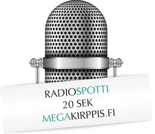 Megakirppis.fi – radiospotti