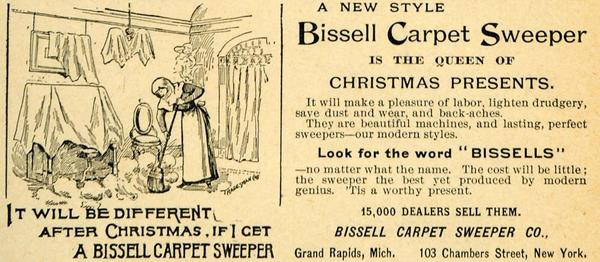 Bissel Carpet Sweeper - luudista parhain! Oiva lahja.