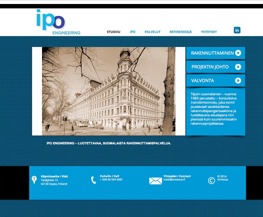 ipo-engineering.com-nettisivut