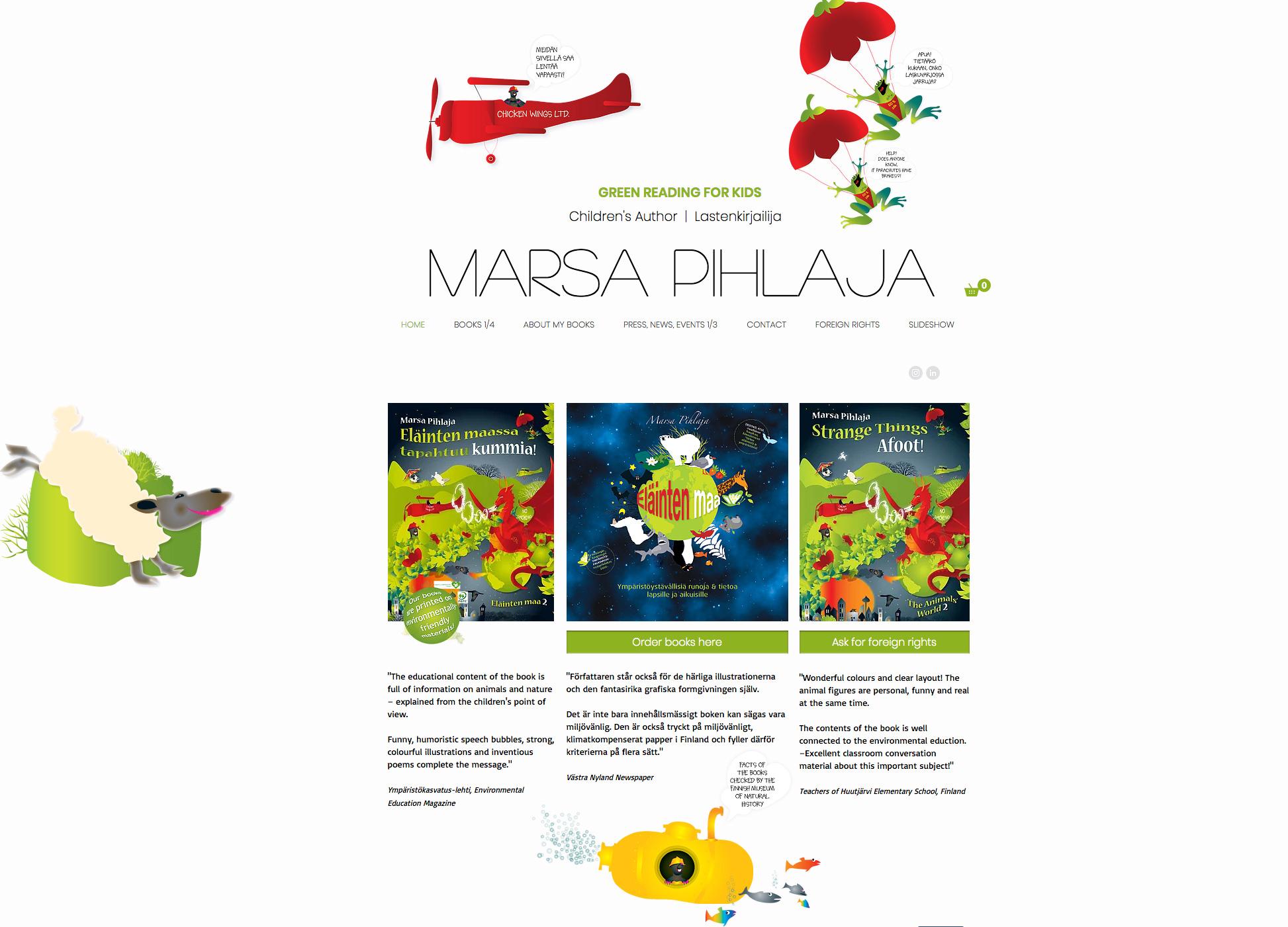 marsapihlaja.com-nettisivut
