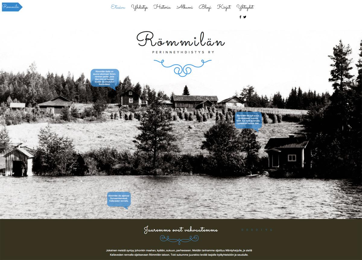 rommila.fi-nettisivut