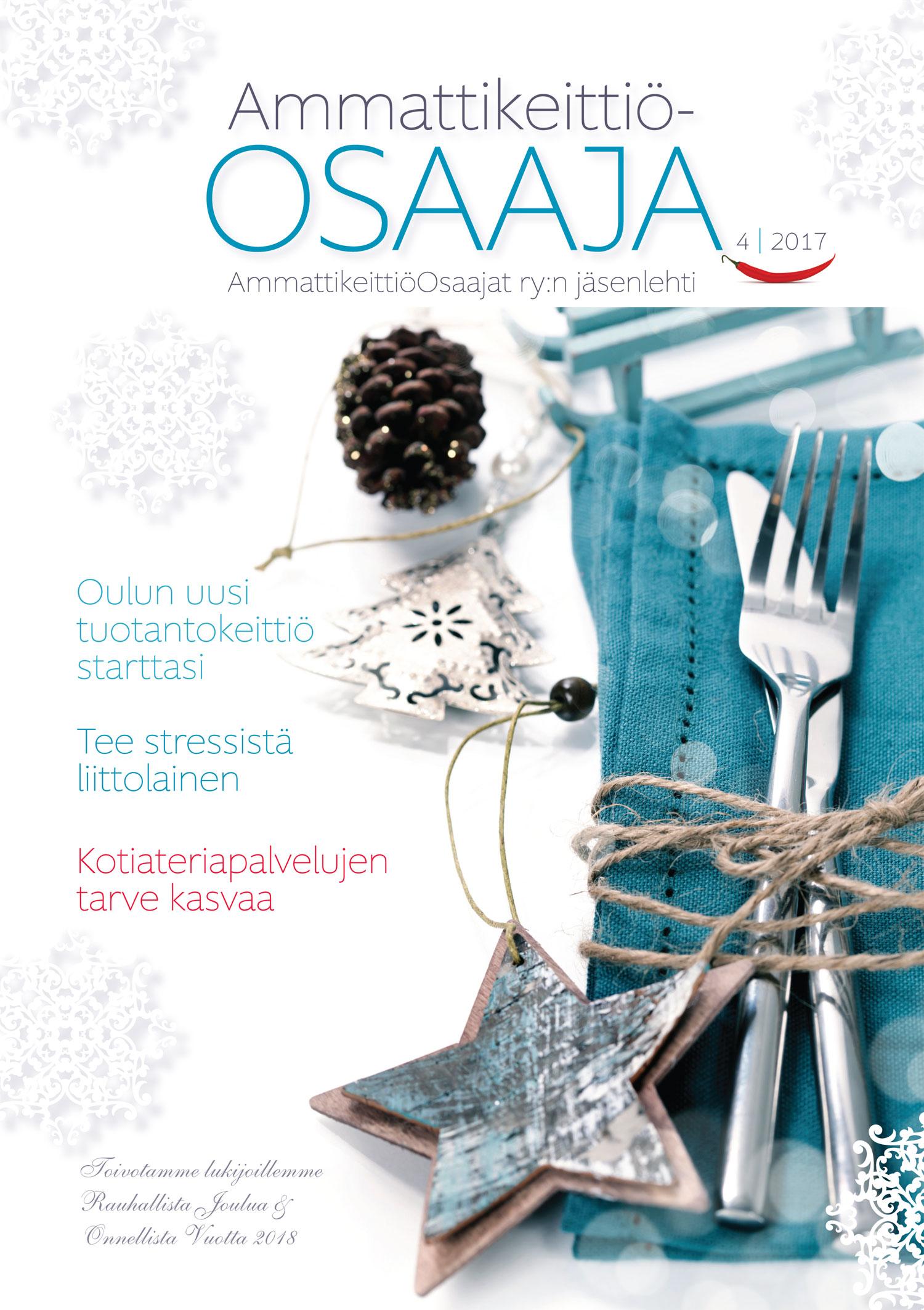 AmmattikeittiöOsaaja-lehti