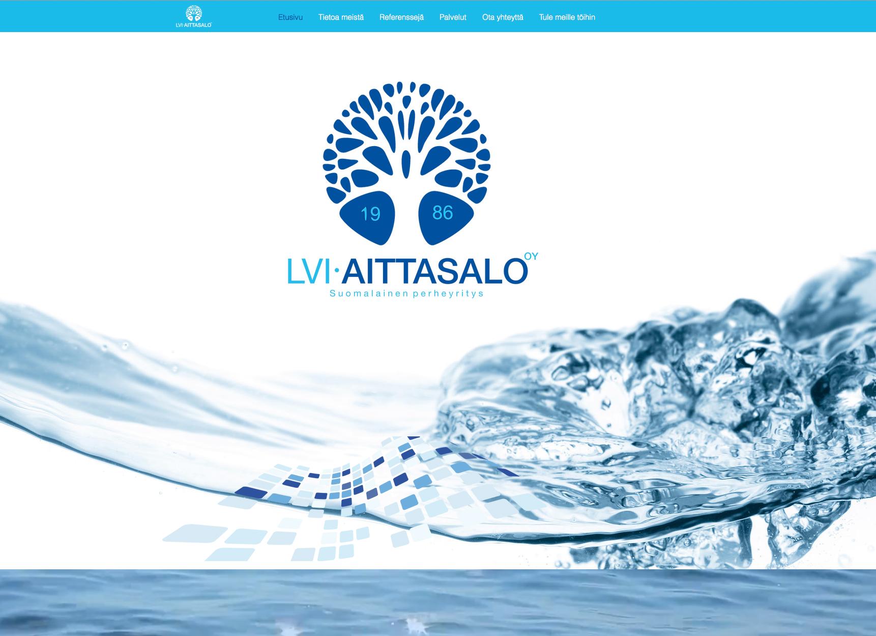 LVI-Aittasalo Oy nettisivut