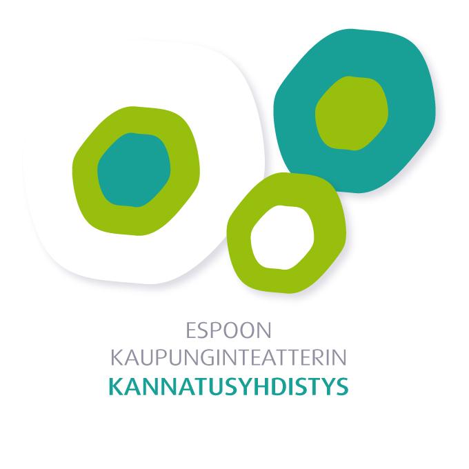 Teatterin kannatusyhdistyksen logo