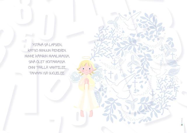 1-v. onnittelukortti | Kauniaisten suom.srk s4