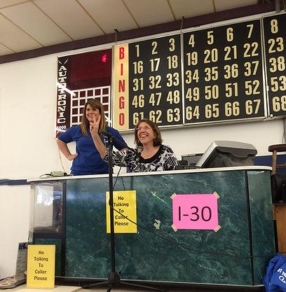 Bingo Caller Stand