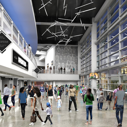 Fiserv Forum Concourse