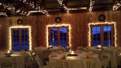 Barn Interior Evening