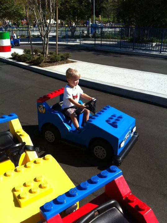 M at the Jr. Driving School