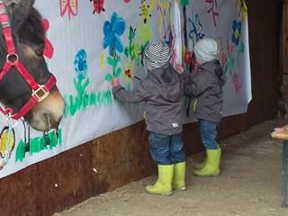 Viel Spaß beim Frühlingsfest in Fridolins Ponywelt !