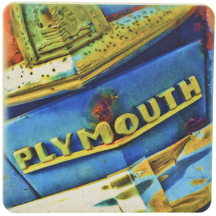Plymouth Tile Coaster